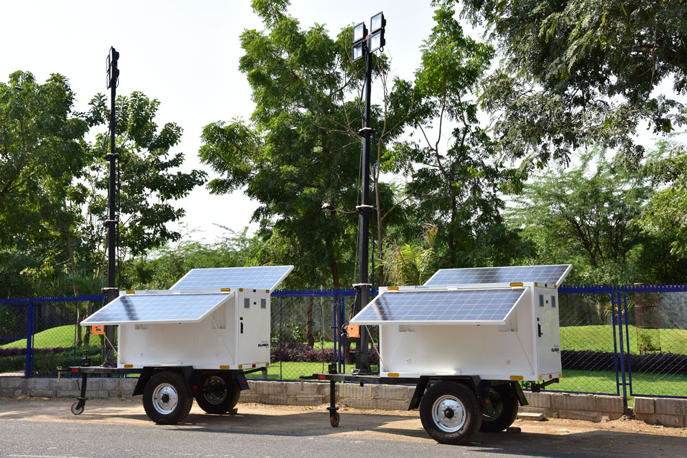 Solar Movable Light tower - PSLT-400